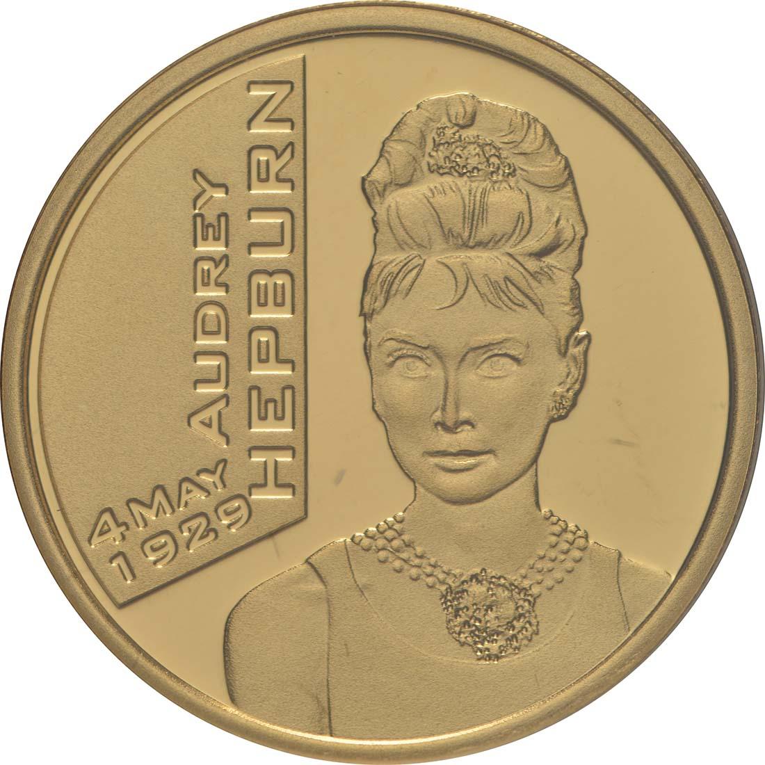 Vorderseite:Belgien : 25 Euro Audrey Hepburn  2019 PP