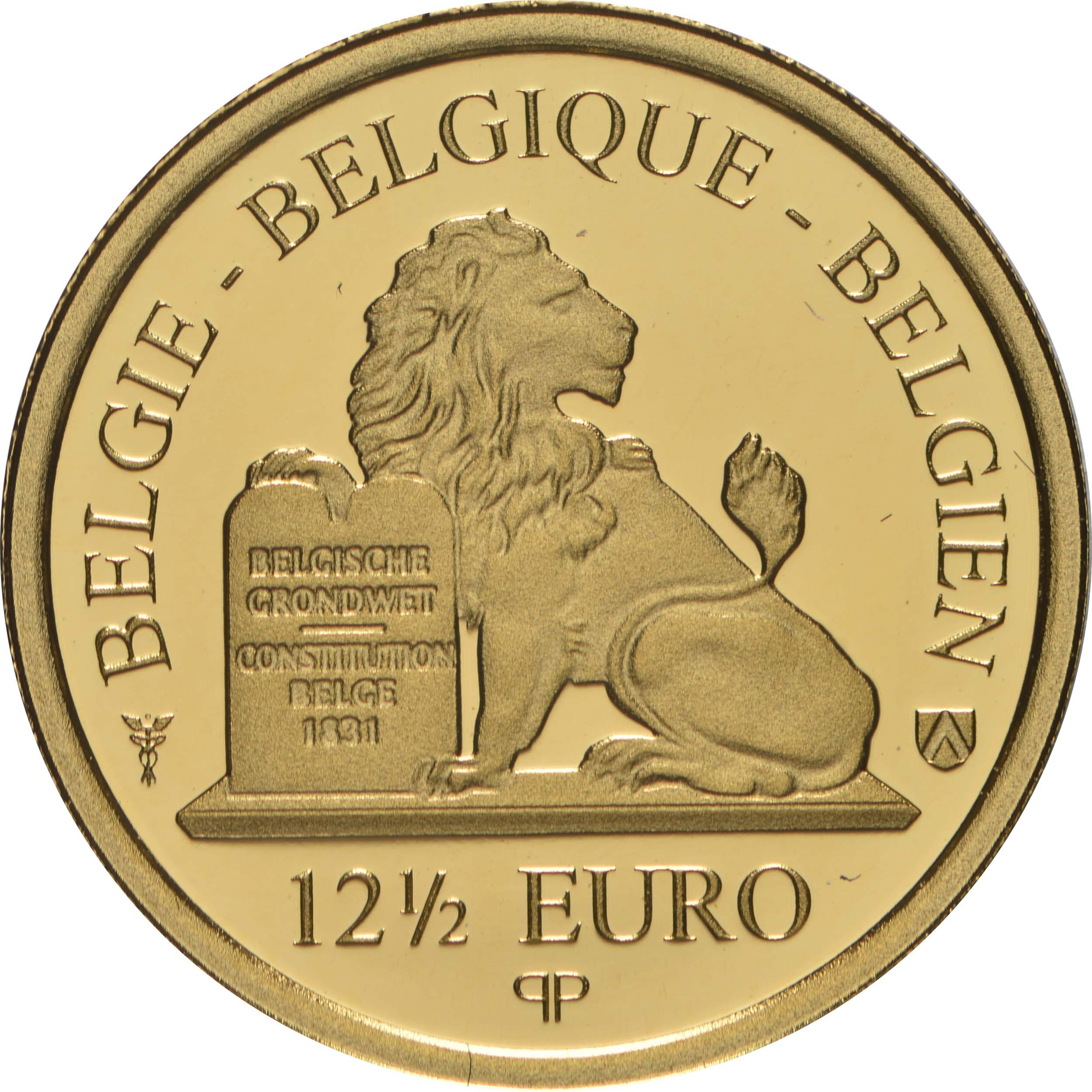 Rückseite:Belgien : 12,5 Euro 30. Jahre Fall der Berliner Mauer  2019 PP