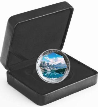 Lieferumfang:Kanada : 30 Dollar Moraine Lake - Photo Serie 2 oz  2019 Stgl.