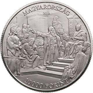 Lieferumfang:Ungarn : 10000 Forint 175. Geburtstag Mihaly Munkacsy (Maler)  2019 PP