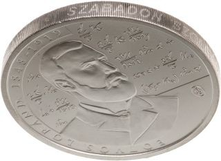 Rückseite:Ungarn : 2000 Forint 100. Todestag Lorand Eötvös (Physiker)  2019 Stgl.
