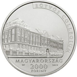 Vorderseite:Ungarn : 2000 Forint 100. Todestag Lorand Eötvös (Physiker)  2019 Stgl.