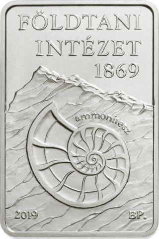 Lieferumfang:Ungarn : 2000 Forint 150 J. Geologisches Institut - rechteckig  2019 Stgl.
