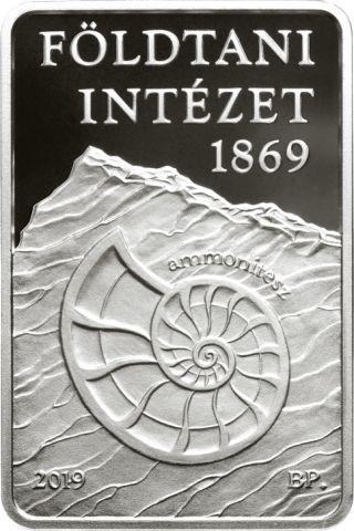 Vorderseite:Ungarn : 10000 Forint 150 J. Geologisches Institut  rechteckig  2019 PP