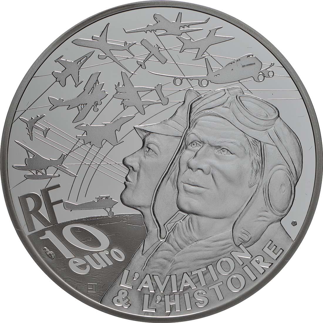 Rückseite:Frankreich : 10 Euro P38  2019 PP