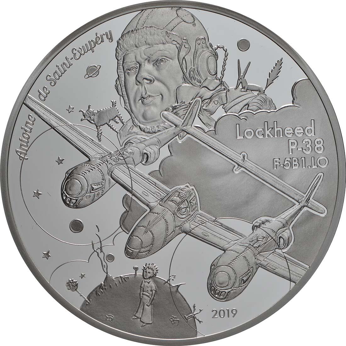 Vorderseite:Frankreich : 10 Euro P38  2019 PP