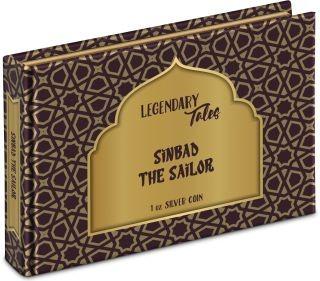 Zertifikat:Niue : 2 Dollar Sindbad der Seefahrer - Märchen #2   1 oz  2019 Stgl.