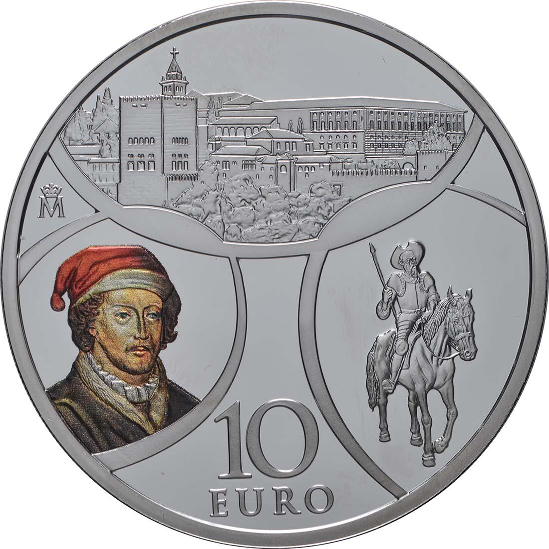 Vorderseite:Spanien : 10 Euro Renaissance  2019 PP