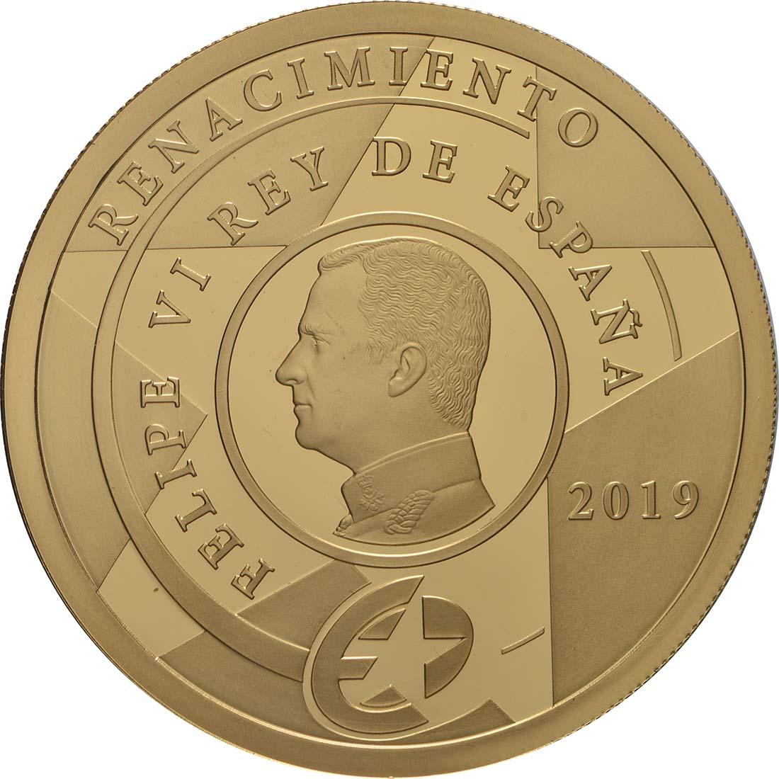Rückseite:Spanien : 200 Euro Renaissance  2019 PP