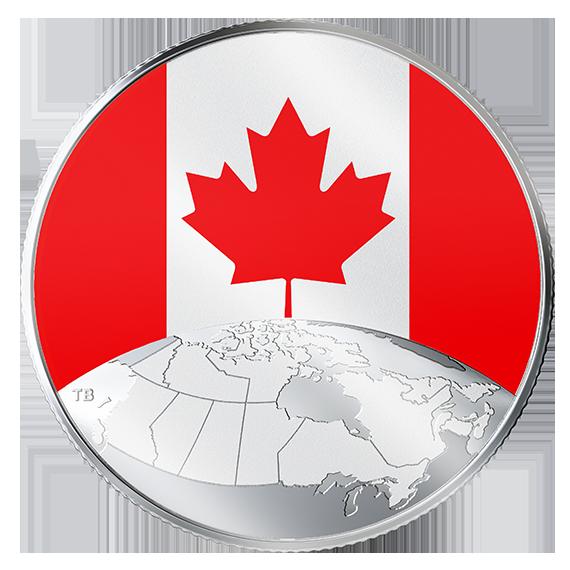 Vorderseite:Kanada : 5 Dollar Das ist Canada  2019 Stgl.