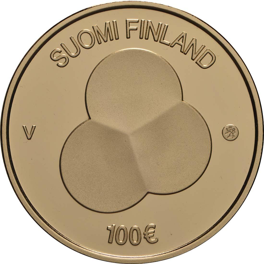 Rückseite:Finnland : 100 Euro 100 Jahre Finnische Verfassung  2019 PP