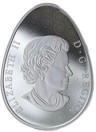 Vorderseite:Kanada : 20 Dollar Vegreville Pysanka - eiförmig  2019 PP