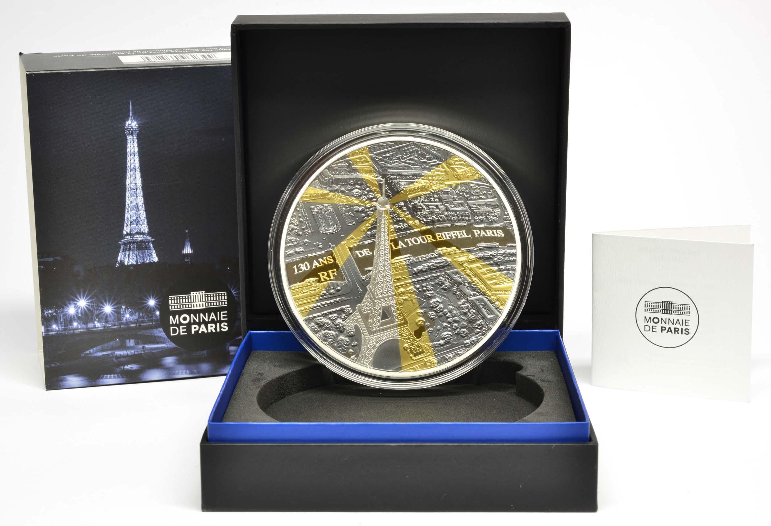 Lieferumfang:Frankreich : 500 Euro Eiffelturm  2019 PP