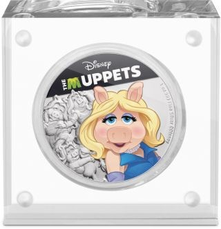 Lieferumfang:Niue : 2 Dollar Miss Piggy - The Muppets #3   1 oz  2019 PP