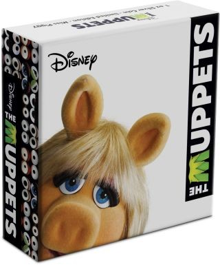 Zertifikat:Niue : 2 Dollar Miss Piggy - The Muppets #3   1 oz  2019 PP