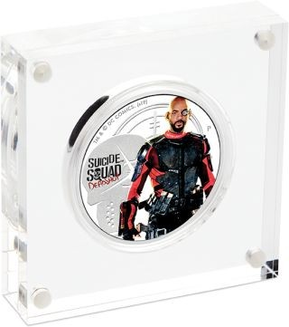 Lieferumfang:Tuvalu : 1 Dollar Suicide Squad - Deadshot 1 oz  2019 PP