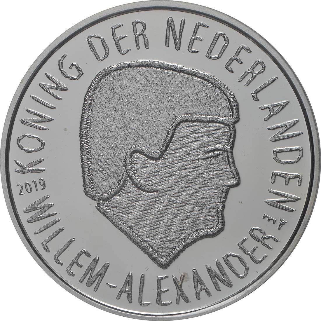 Rückseite:Niederlande : 5 Euro 75 Jahre Market Garden  2019 PP