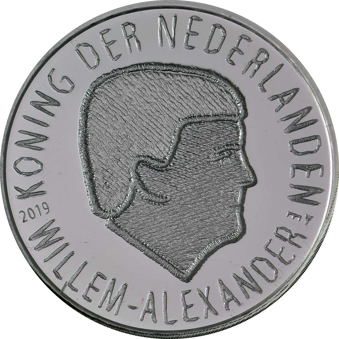 Vorderseite:Niederlande : 5 Euro 75 Jahre Market Garden  2019 bfr
