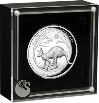 Lieferumfang:Australien : 8 Dollar Känguru 5 oz - Highrelief  2019 PP