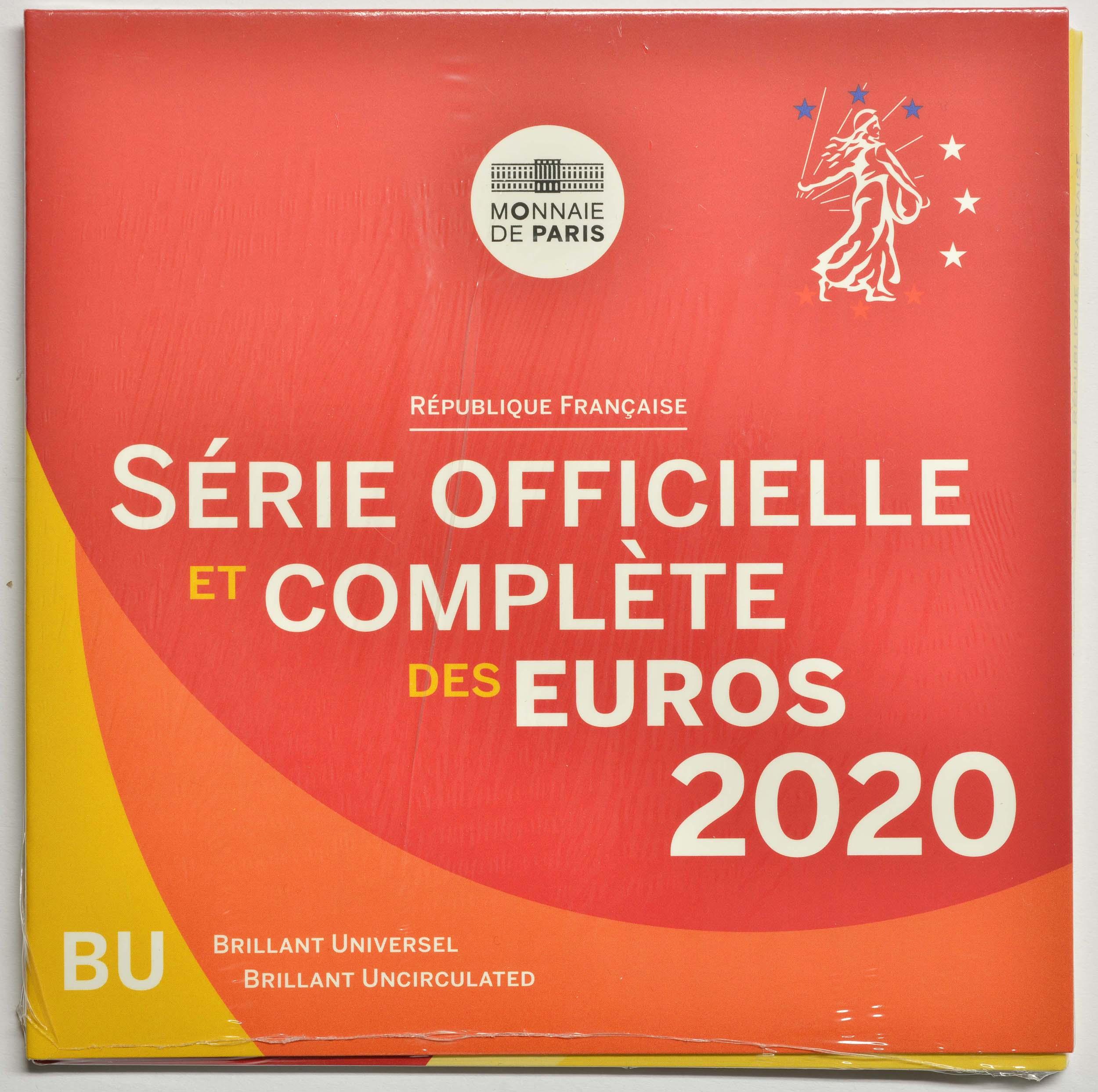 Lieferumfang:Frankreich : 3,88 Euro KMS Frankreich  2020 Stgl.