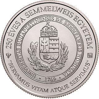Lieferumfang:Ungarn : 2000 Forint 150 J. Semmelweis Universität Budapest  2019 Stgl.
