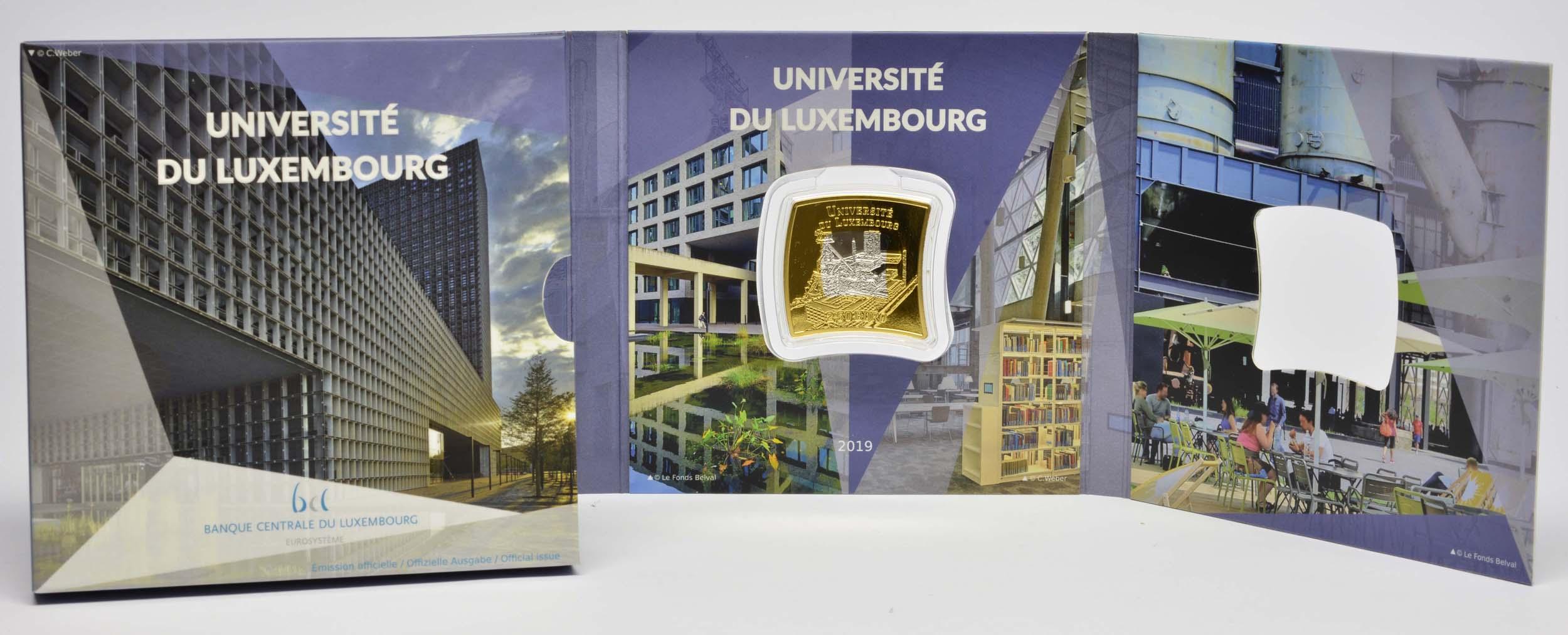 Lieferumfang:Luxemburg : 2,5 Euro Universität von Luxemburg  2019 PP
