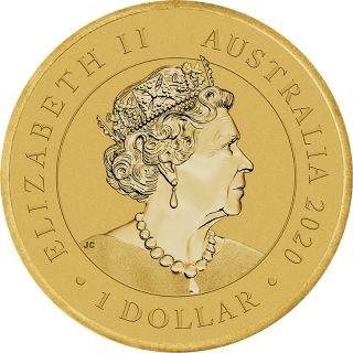 Rückseite:Australien : 1 Dollar Australische Staatsbürgerschaft  2020 Stgl.