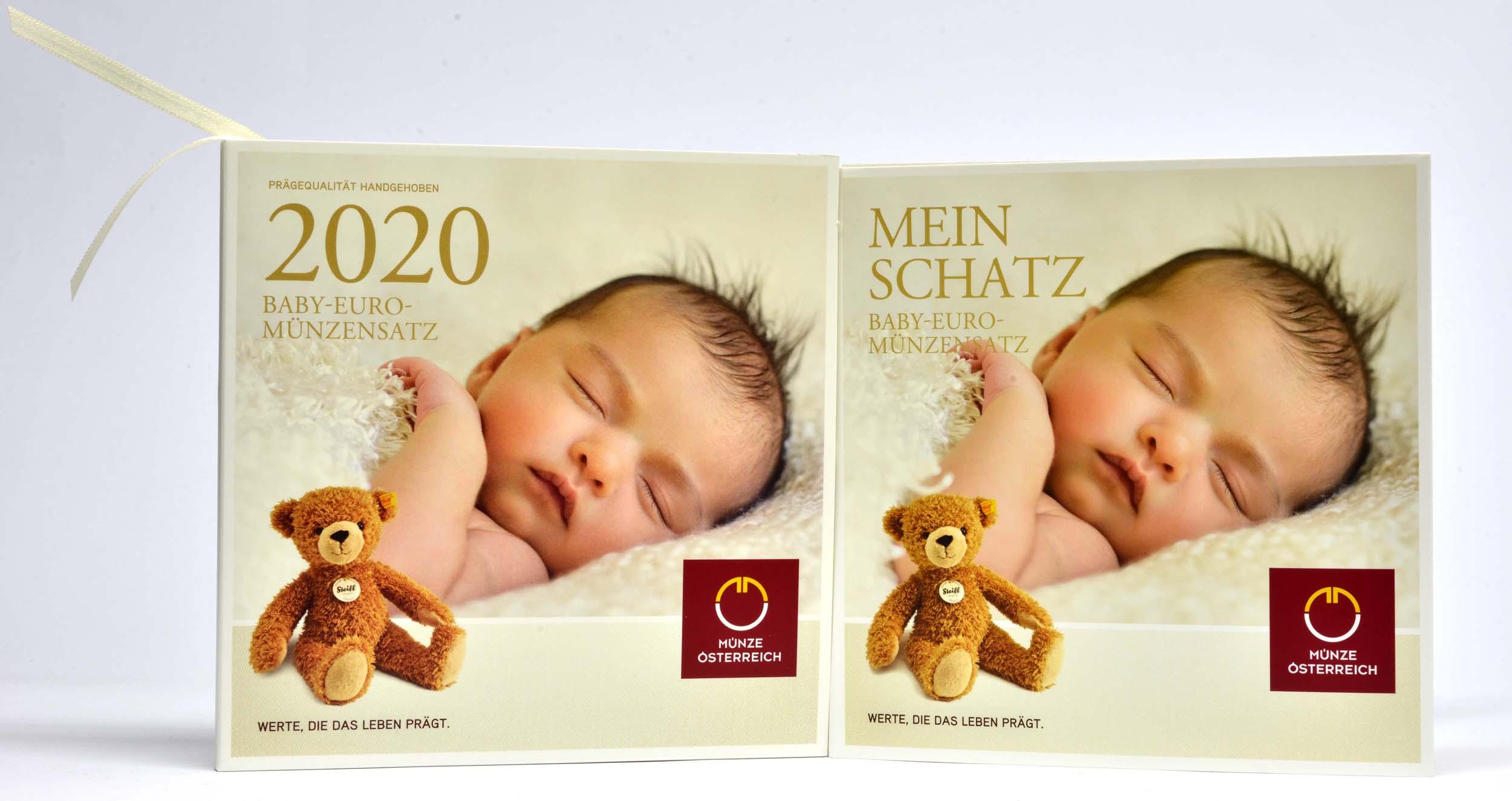 Lieferumfang:Österreich : 3,88 Euro KMS Österreich Baby  2020 Stgl.