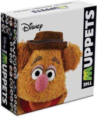 Zertifikat:Niue : 2 Dollar Fozzie Bear - Ther Muppets #2   1 oz  2019 PP