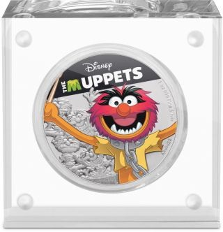 Lieferumfang:Niue : 2 Dollar Animal - The Muppets #4   1 oz  2019 PP
