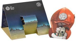 Rückseite:Großbritannien : 50 Pc Wallace and Gromit - Blister  2019 Stgl.