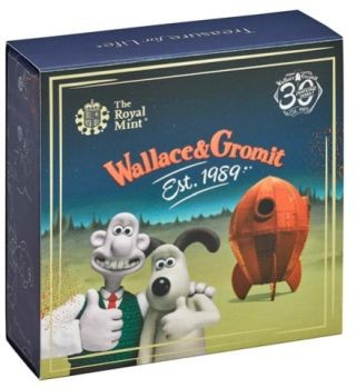 Zertifikat:Großbritannien : 50 Pc Wallace and Gromit  2019 PP