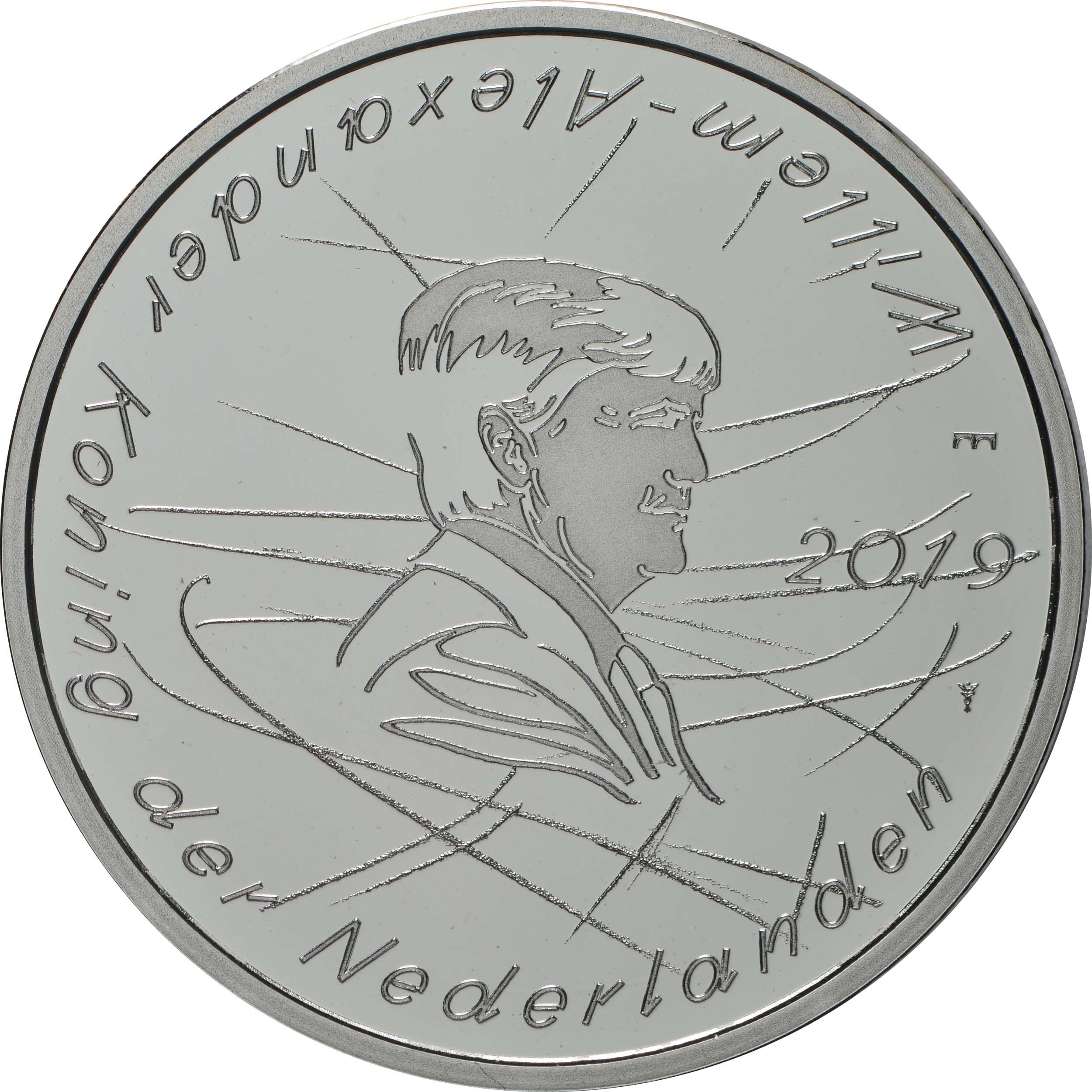 Vorderseite:Niederlande : 5 Euro Jaap Eden  2019 PP