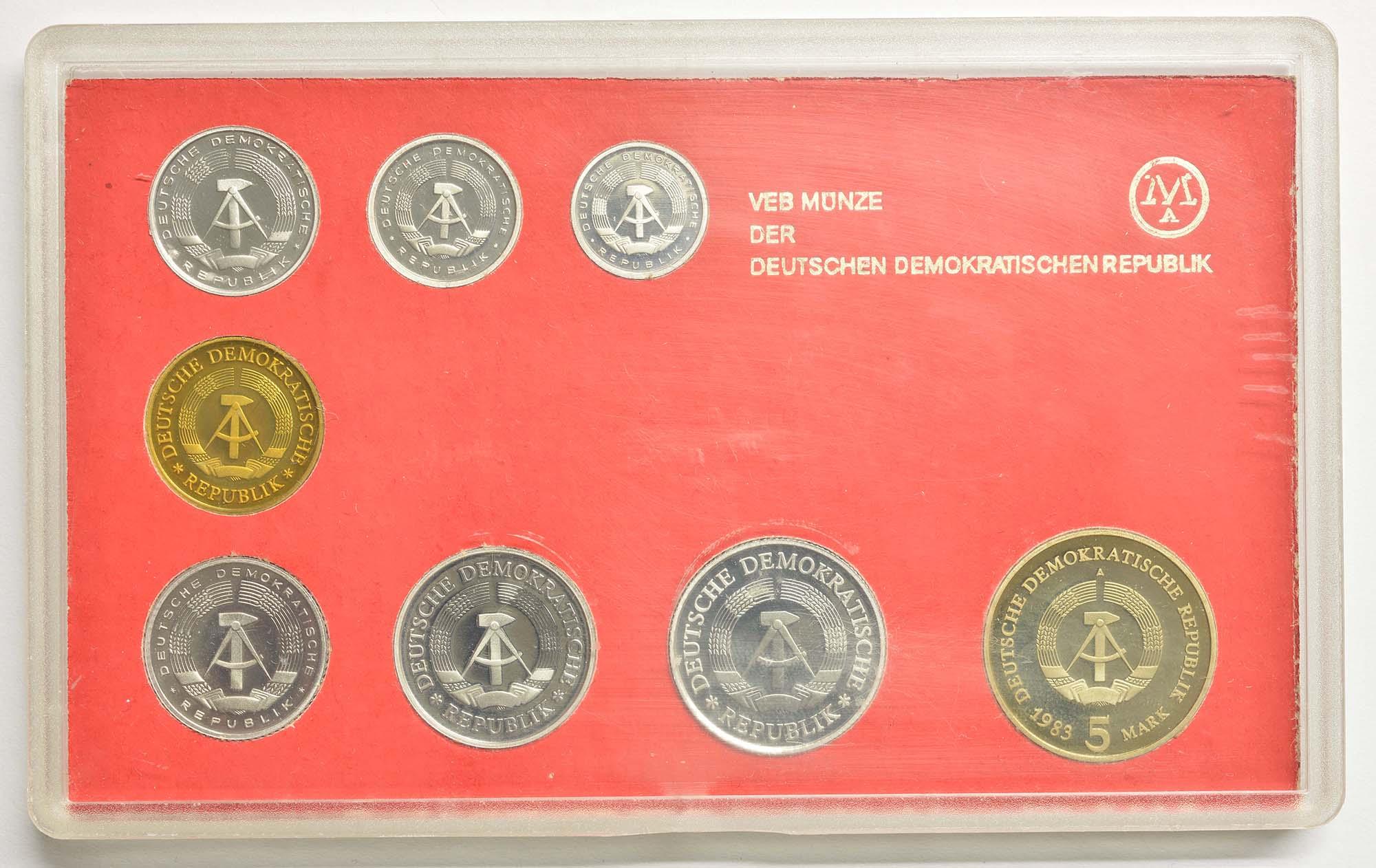 Rückseite:DDR : 8,86 Mark Meißen 1983!   -sehr selten !- 1983 PP