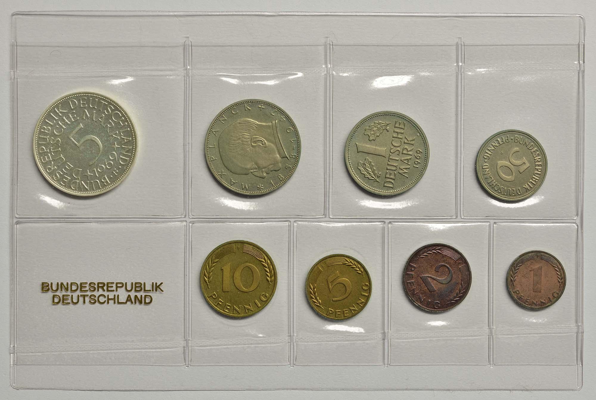 Lieferumfang:Deutschland : 8,68 Mark Original verschweißt  1969 PP