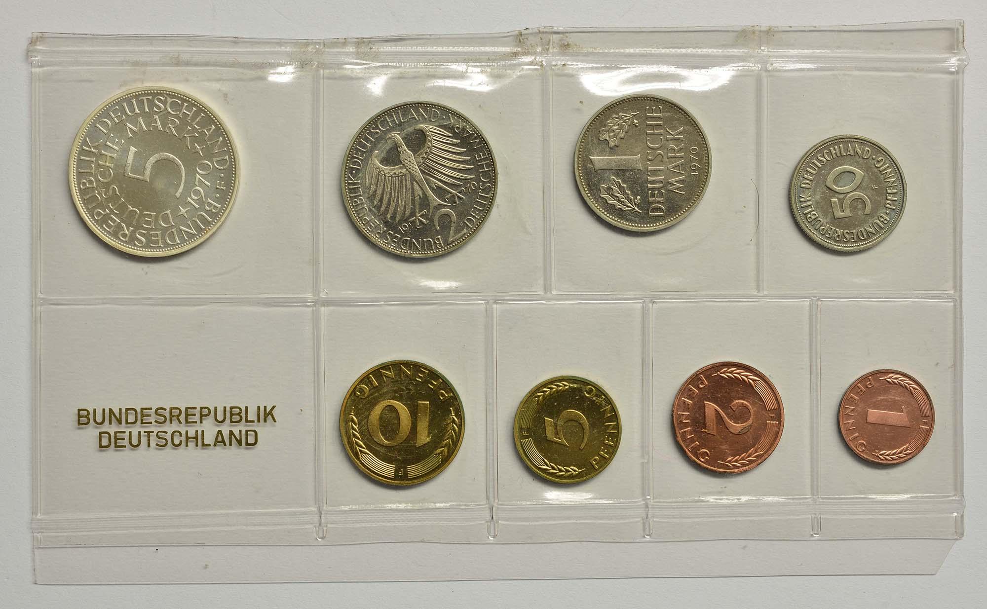 Lieferumfang:Deutschland : 8,68 Mark Original verschweißt  1970 PP