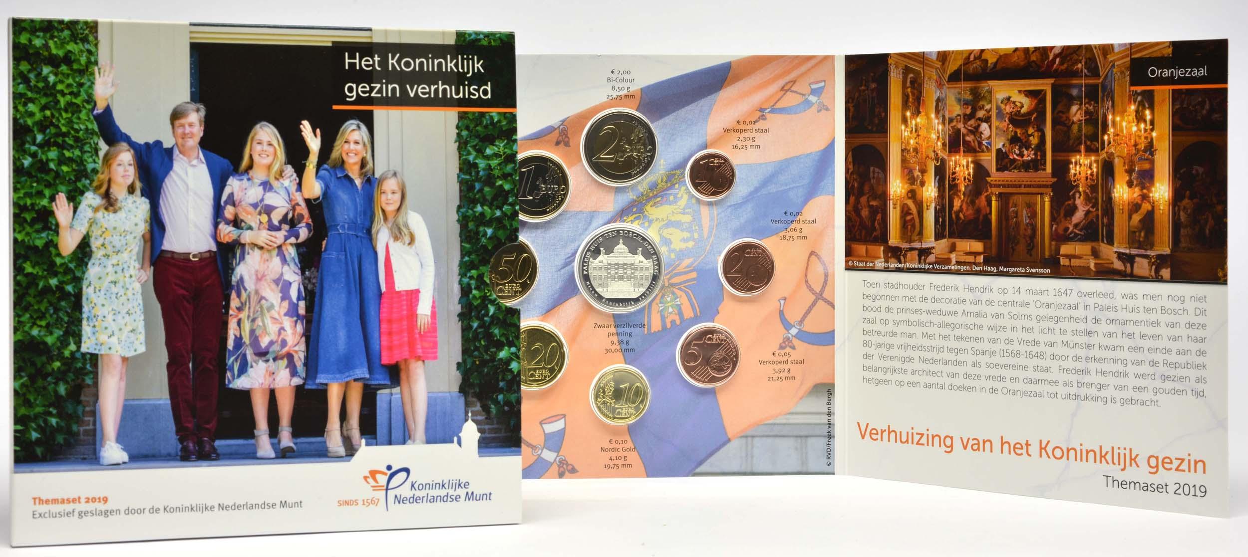 "Lieferumfang:Niederlande : 3,88 Euro KMS Niederlande ""Palast-Huis ten Bosch""  2019 Stgl."