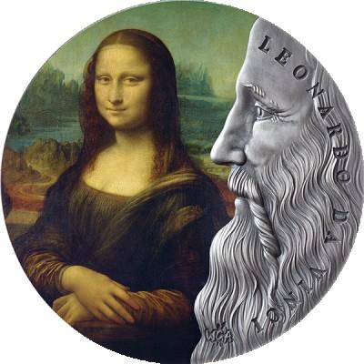 Lieferumfang:Ghana : 10 Cedi Leonardo da Vinci  2020 Stgl.