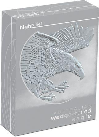 Zertifikat:Australien : 1 Dollar Keilschwanzadler - Highrelief 1 oz  2020 PP