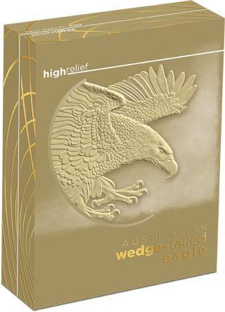 Zertifikat:Australien : 100 Dollar Keilschwanzadler - Highrelief 1 oz  2020 PP