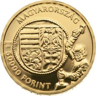 Lieferumfang:Ungarn : 5000 Forint Goldflorin von Vladislaus I.  2020 Stgl.
