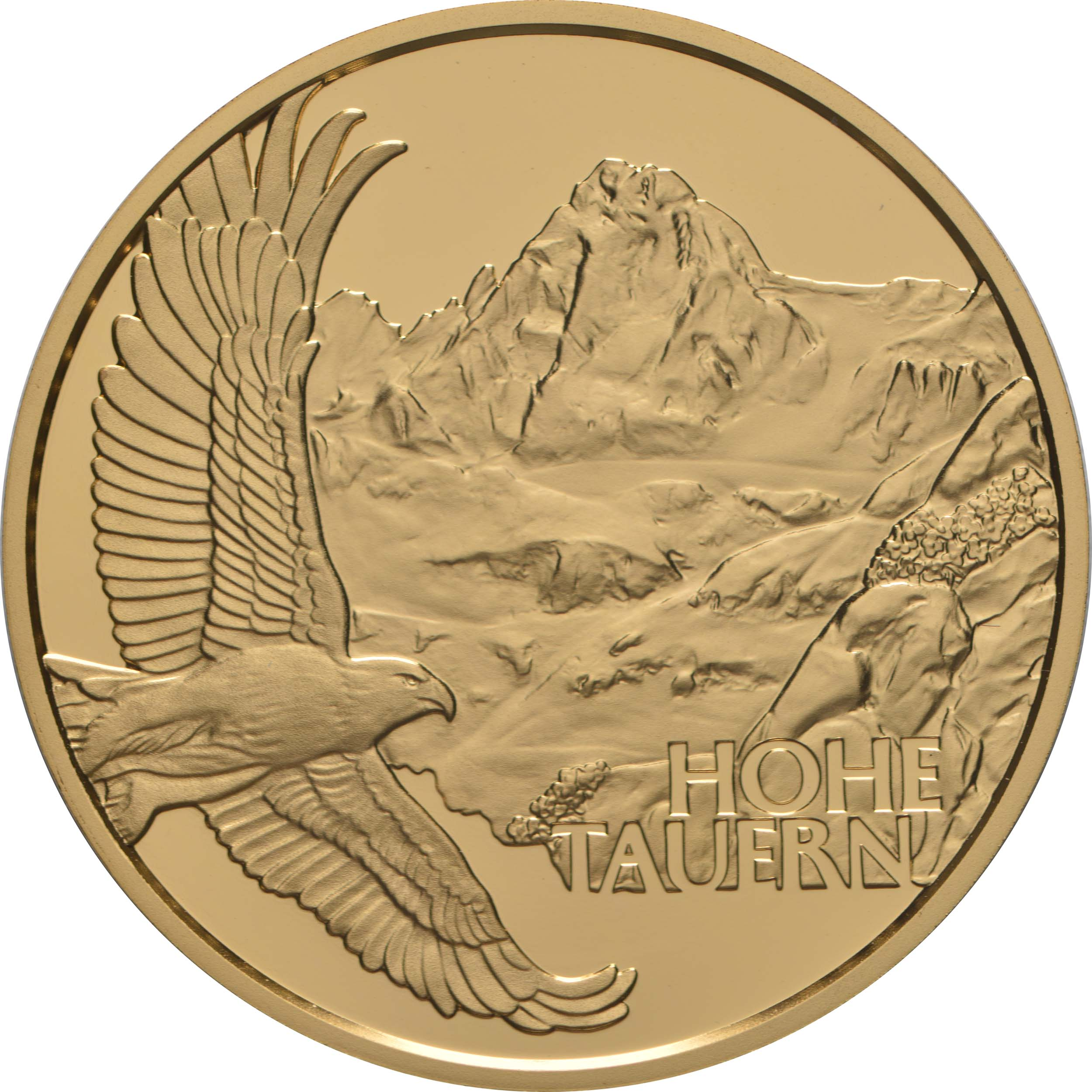 Vorderseite:Österreich : 50 Euro Hohe Tauern 1 von 3  2020 PP