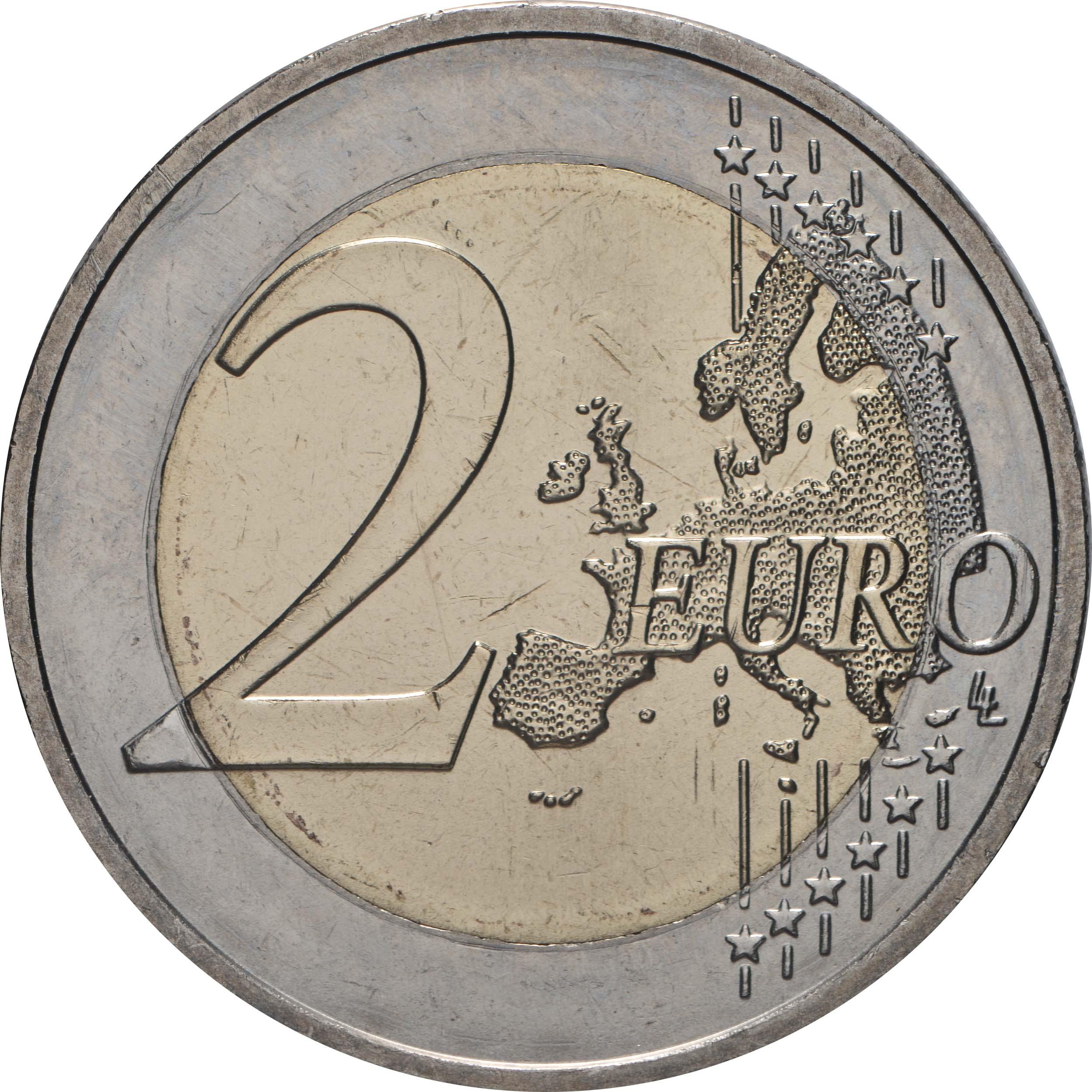 Vorderseite:Deutschland : 2 Euro Brandenburg - Schloss Sanssouci Buchstabe unserer Wahl   2020 bfr