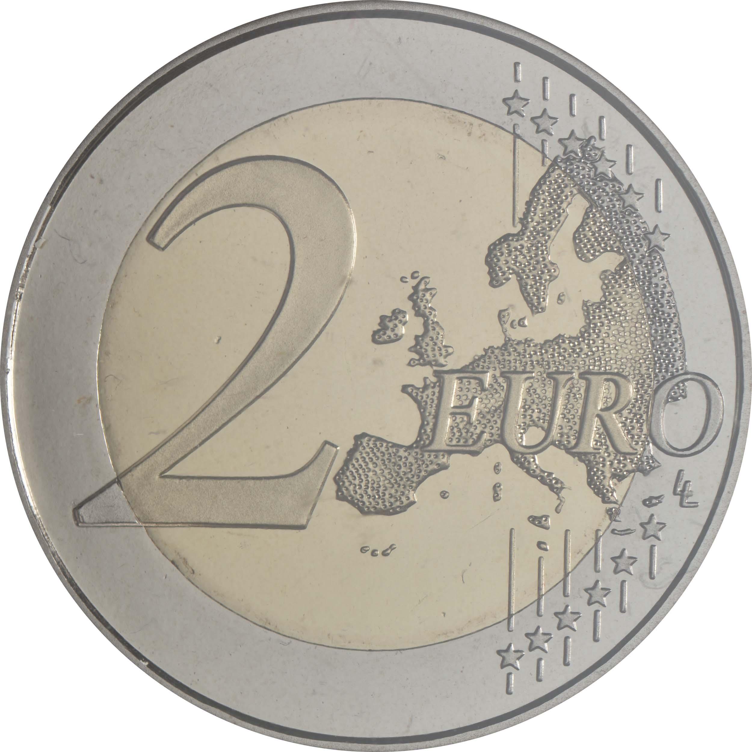 Vorderseite:Spanien : 2 Euro Architektur der Mudéjaren in Aragón  2020 PP