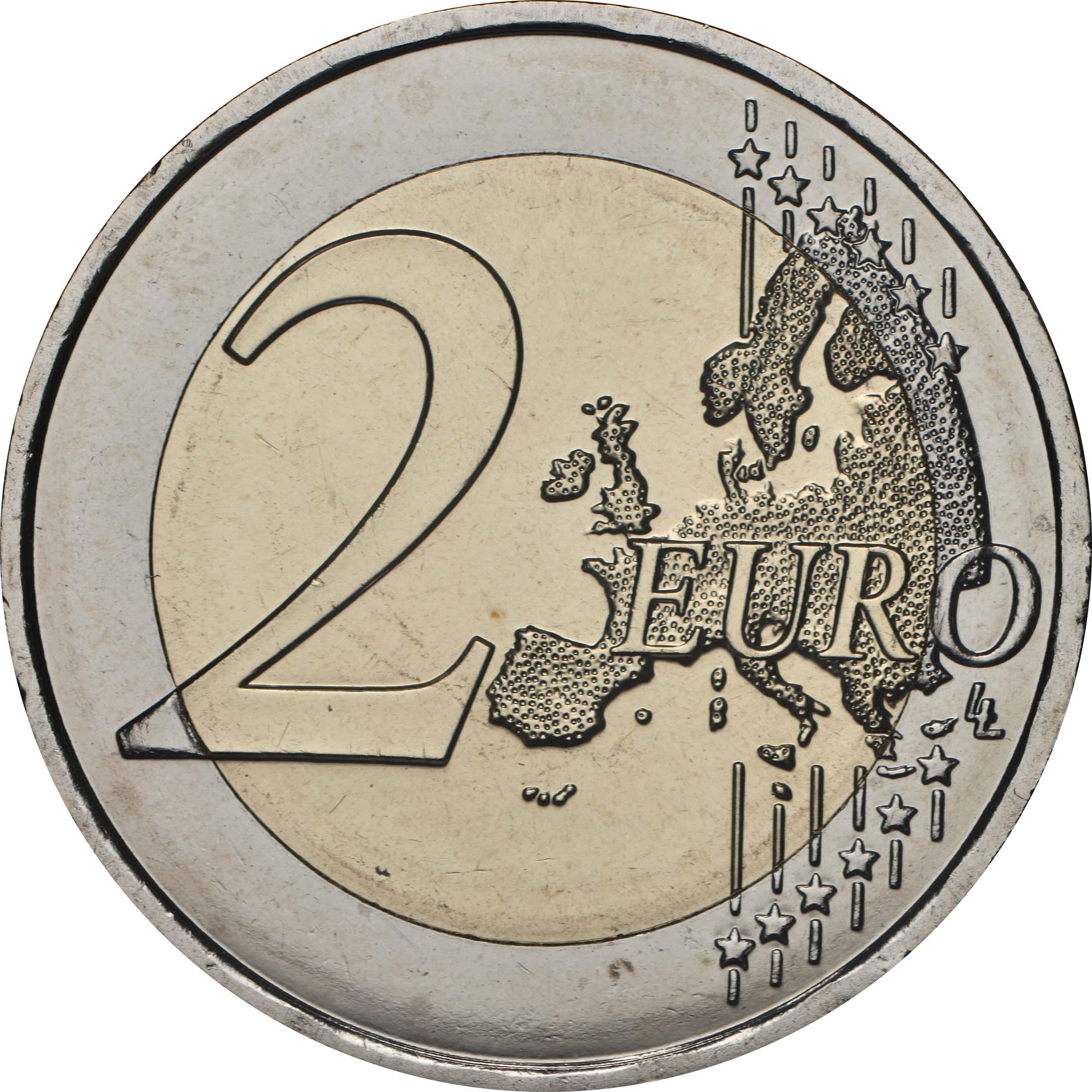 Vorderseite:Malta : 2 Euro Von Kindern mit Solidarität - Spiele  2020 bfr