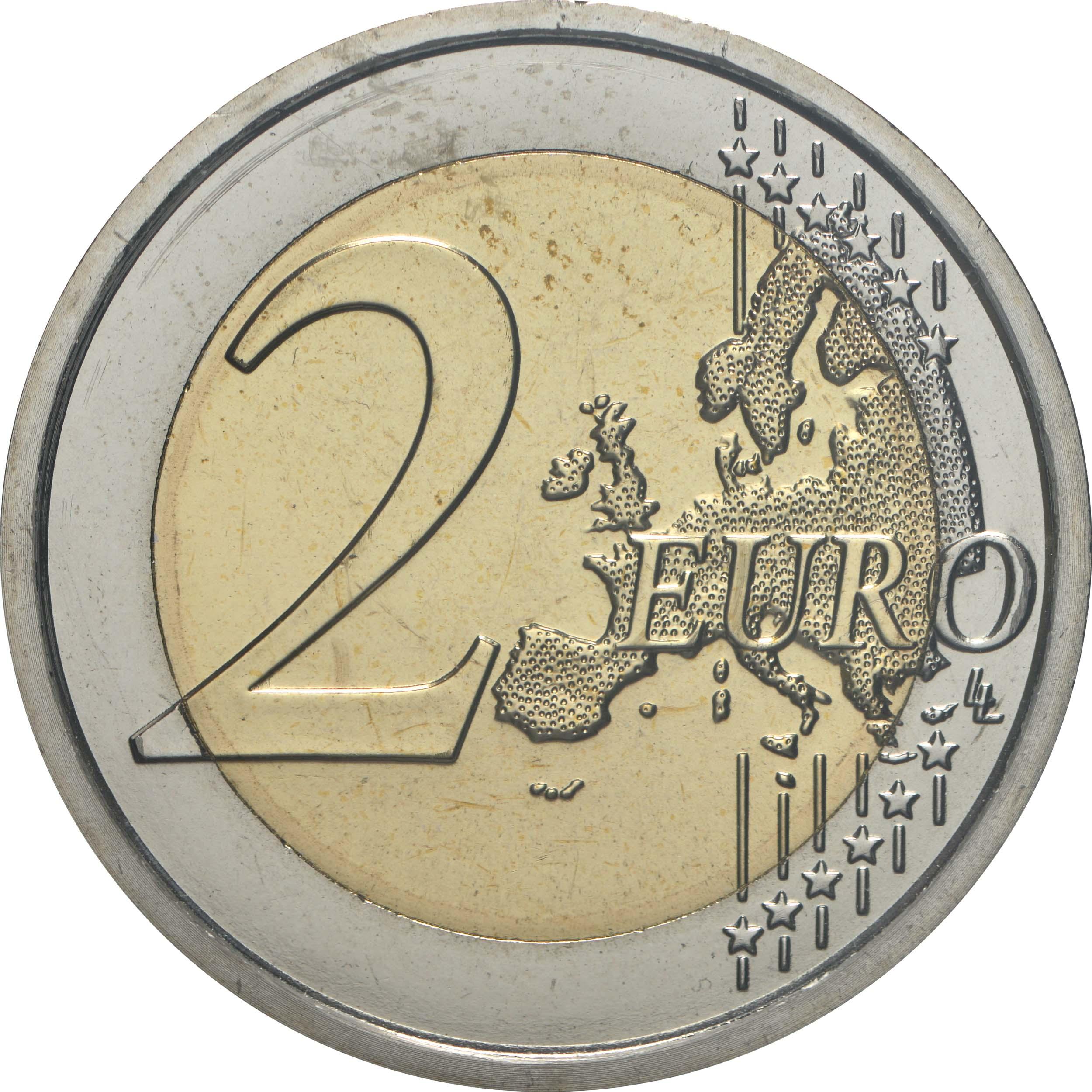 Vorderseite:San Marino : 2 Euro 250. Todestag von Giovanni Battista Tiepolo  2020 Stgl.