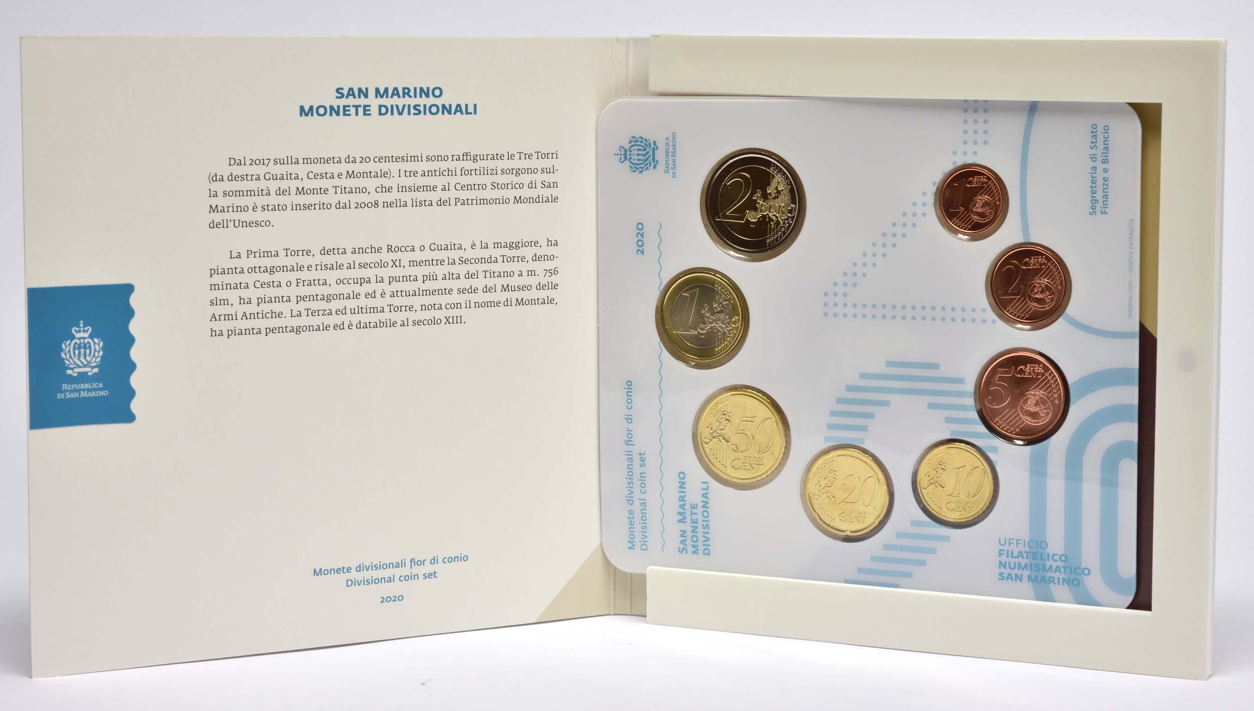 Lieferumfang:San Marino : 3,88 Euro KMS San Marino  2020 Stgl.