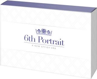 Vorderseite:Australien : 3,85 Dollar Kursmünzensatz 6. Portrait Queen Elizabeth  2020 PP