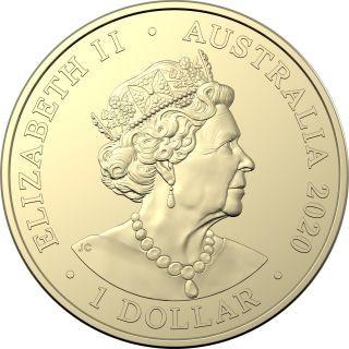 Rückseite:Australien : 4x1 Dollar Eureka - Australischer Goldrausch Mintmark Set  2020 Stgl.