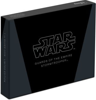 Zertifikat:Niue : 2 Dollar Stormtrooper-Star Wars/Guards of the Empire  2020 Stgl.